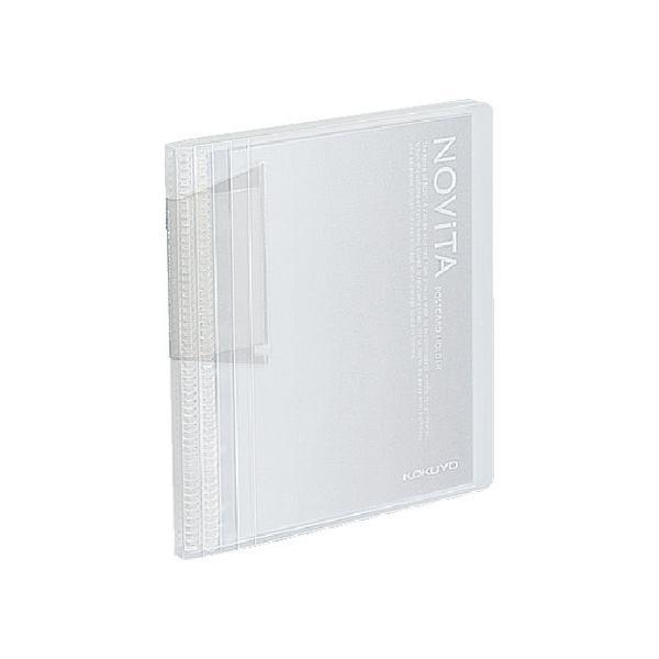 コクヨ/ポストカードホルダー〈ノビータ〉A6 60ポケット 透明