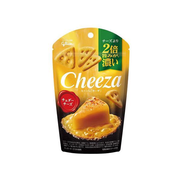 グリコ/生チーズのチーザ チェダーチーズ 40g
