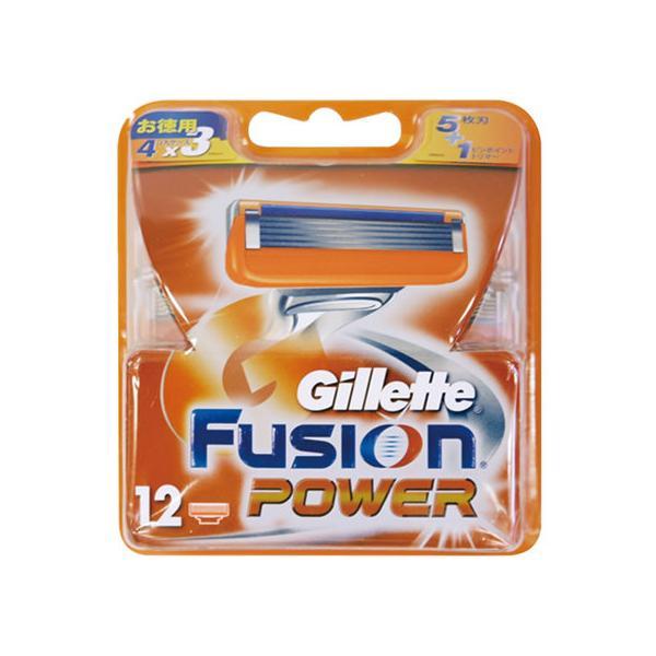 P&G/ジレット フュージョン5+1 パワー替刃12個