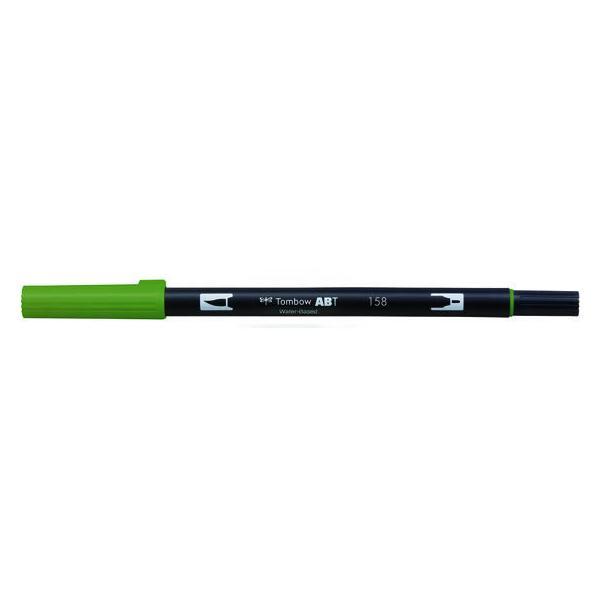 RoomClip商品情報 - トンボ鉛筆/デュアルブラッシュペン ABT Dark Olive/AB-T158