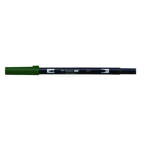 RoomClip商品情報 - トンボ鉛筆/デュアルブラッシュペン ABT Dark Green/AB-T277