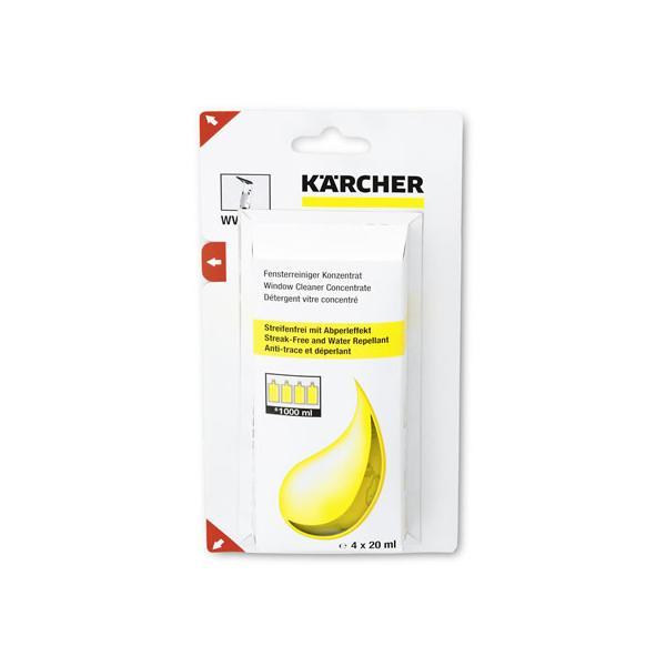 ケルヒャー/窓用バキュームクリーナー専用洗浄剤(4個入)/6.295-302.0