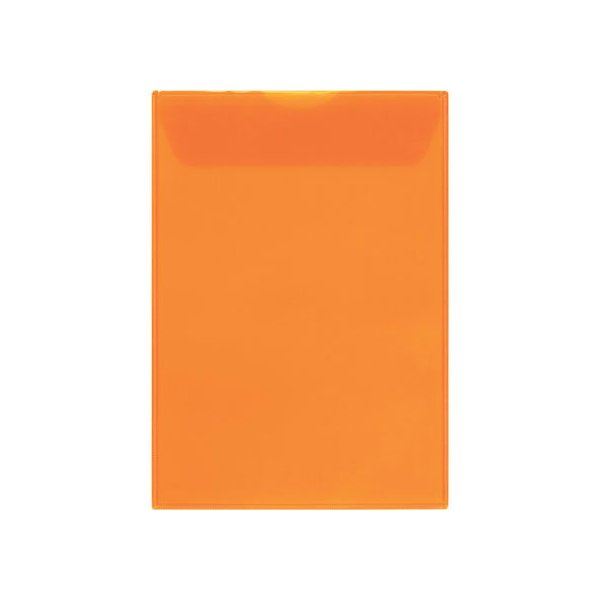 【お取り寄せ】キングジム/ジャケットホルダー封筒タイプ A4タテ オレンジ 10枚