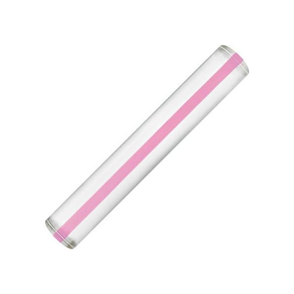 【お取り寄せ】共栄プラスチック/カラーバールーペ 15cm ピンク/CBL-700-P