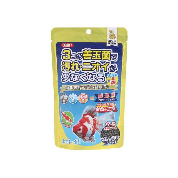 【お取り寄せ】イトスイ/金魚の主食 納豆菌中粒 90g