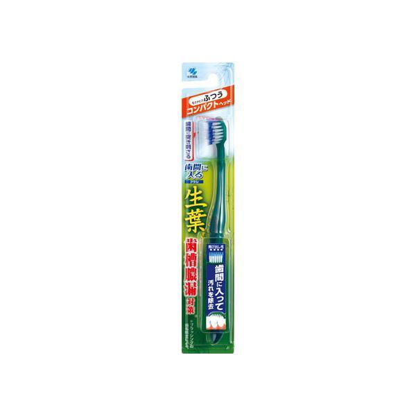 【お取り寄せ】小林製薬/生葉 歯間に入るブラシ コンパクト ふつう