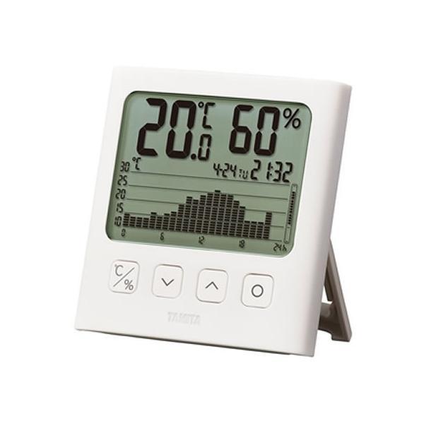 【お取り寄せ】タニタ/グラフ付きデジタル温湿度計/TT-580-WH