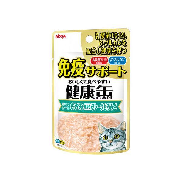 【お取り寄せ】アイシア/健康缶パウチ 免疫ささみフレークとろみ 40g
