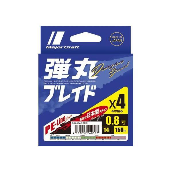 【お取り寄せ】メジャークラフト/弾丸ブレードX4 150m DB4-150/1.2MC