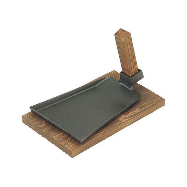 【お取り寄せ】エムテートリマツ/MT 鉄鍬型 鉄板 中 木台のみ
