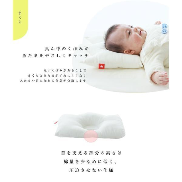ベビー布団 セット 日本製 洗える 綿100% サンデシカ ミニサイズ 送料無料 ココデシカ ベビー布団セット 6点 王冠 リボン 敷布団 ドット ストライプ|cocodesica|13