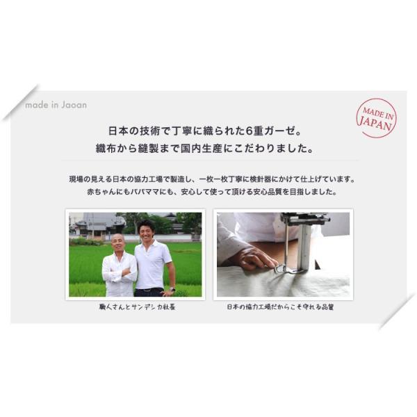 6重ガーゼケット ベビー 日本製 洗える 綿100% サンデシカ 100×140cm スター くも 送料無料 ココデシカ 出産祝い ギフト おくるみ ガーゼケット cocodesica 03