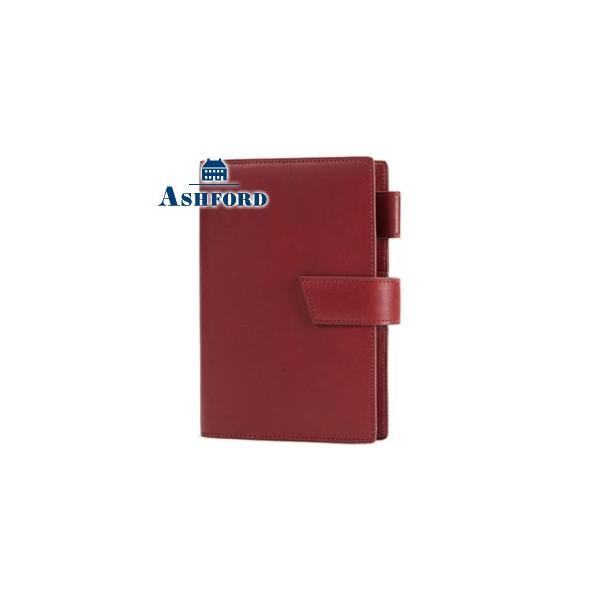 システム手帳 B6 アシュフォード 名入れ無料 ストラーダ B6サイズ 19ミリ ベルト システム手帳 ワイン No. 7237-048