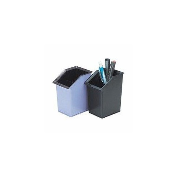 ペン立て おしゃれ オープン工業 ペンスタンド 黒 PS-200-BK