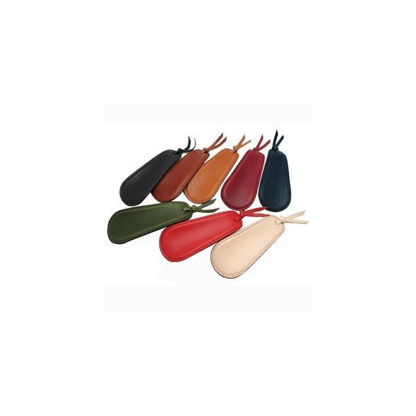 靴べら おしゃれ 革 名入れ スリップオン Rio&DNLシリーズ ワイン 靴ベラ シューホーン IOL-2501WN