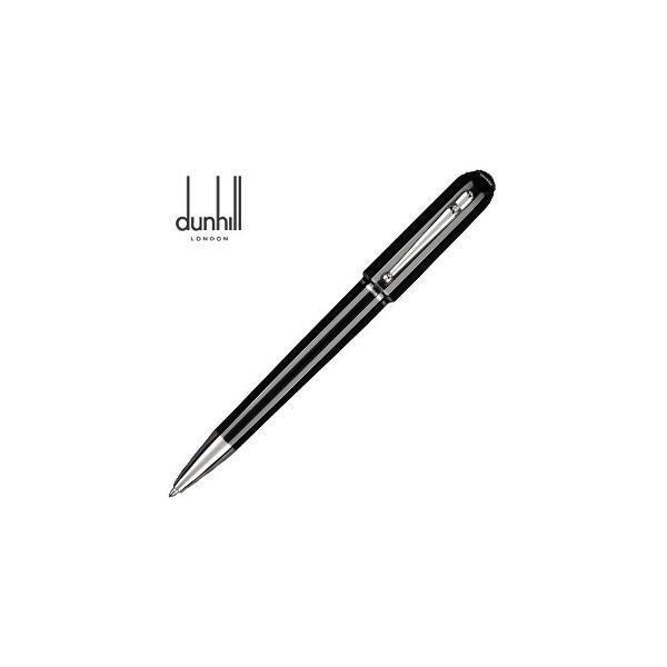 高級 ボールペン 名入れ ダンヒル サイドカー ブラックレジン ボールペン NUW2113