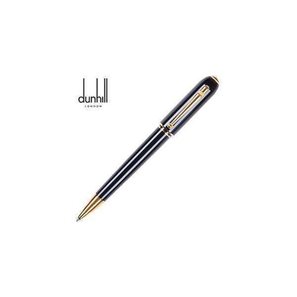 高級 ボールペン 名入れ ダンヒル サイドカー ゴールド ブラックレジン ボールペン NUA2233