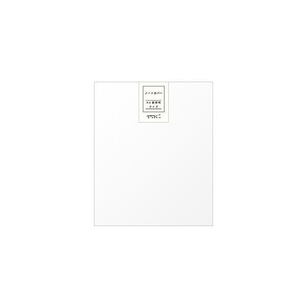 ノートカバー A4 デザインフィル ミドリ ステーショナリー MDノートカバー A4変形判 5個セット No. 49390