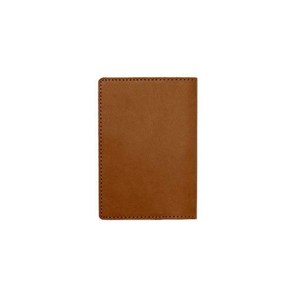 パスポートケース メンズ 革 名入れ メタフィス セバンズ キャメル パスポートカーバー 3セット 83021-CA