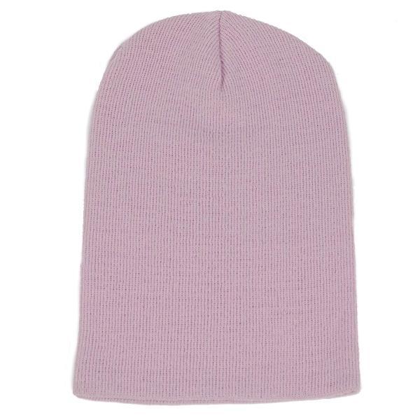 ニット帽  メンズ レディース ビーニー ライトパープル色 アクリル素材 550円ぽっきり 送料無料|coconoco
