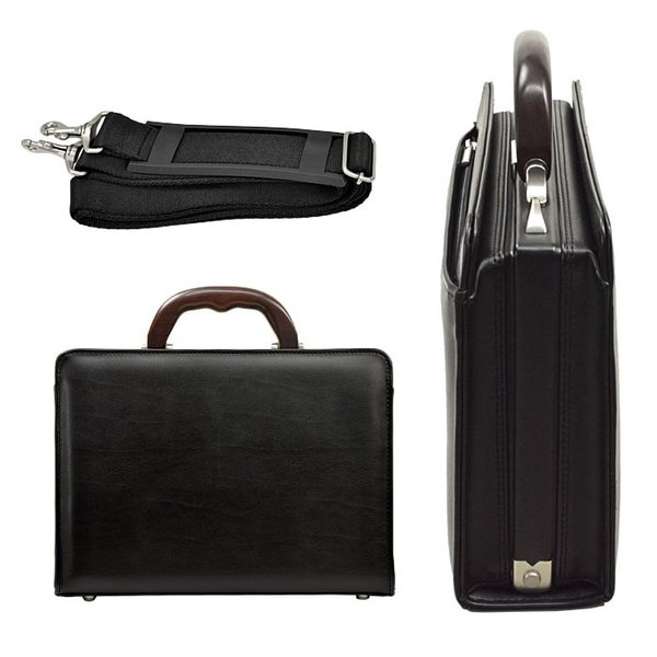 ミニダレスバッグ メンズ ビジネスバッグ 男性用 B5 日本製 豊岡製鞄 30cm 天然木手ハンドル|coconoco|07