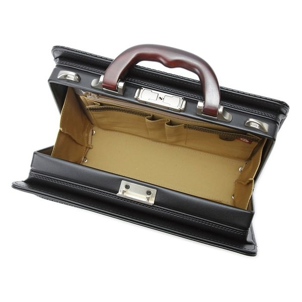 ミニダレスバッグ メンズ ダレスバック ビジネスバッグ セカンドバッグ ブリーフケース B5 日本製 豊岡製鞄 大開き 男性用 通勤用 黒 30cm|coconoco|05