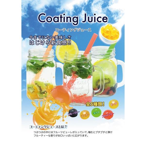 コーティングジュース ブルーペリー 90g ポッピングボバ つぶつぶ ジュース プチプチ 弾けるジュース スイーツ|coconoco|03