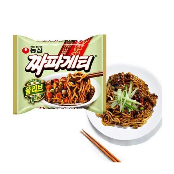 チャパゲティ 韓国発 インスタント ジャージャー麺 チャジャンメン 農心 1袋|coconoco