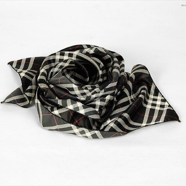 チェック柄・ブラック・ネクタイとスカーフの特徴を合わせた「ネックスカーフ」「ストール」「マフラー」 NTF12|coconoco|03