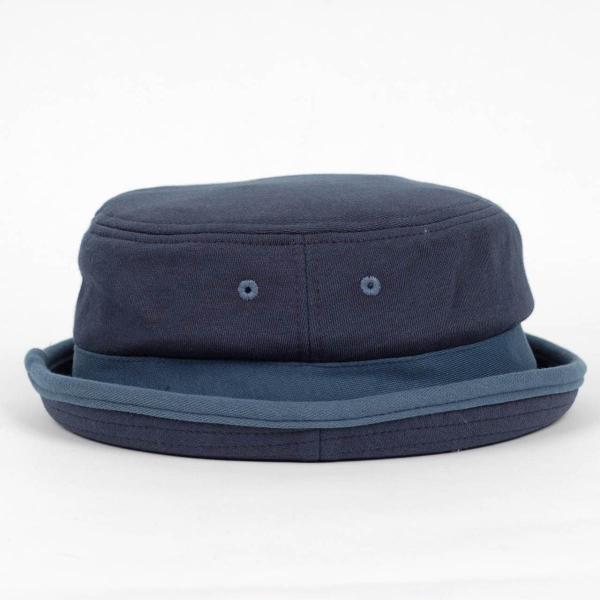 ポークパイハット メンズ レディース スウェット ブルー 青色 ハット帽子 男女兼用 帽子 58cm フリーサイズ|coconoco|03