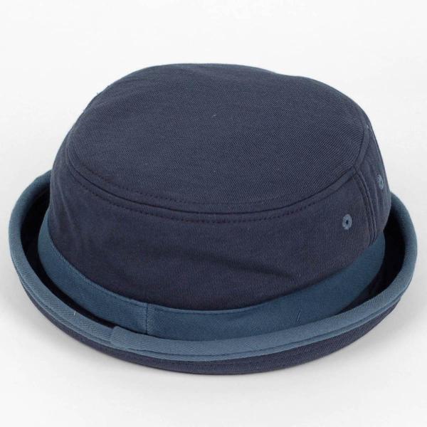 ポークパイハット メンズ レディース スウェット ブルー 青色 ハット帽子 男女兼用 帽子 58cm フリーサイズ|coconoco|04
