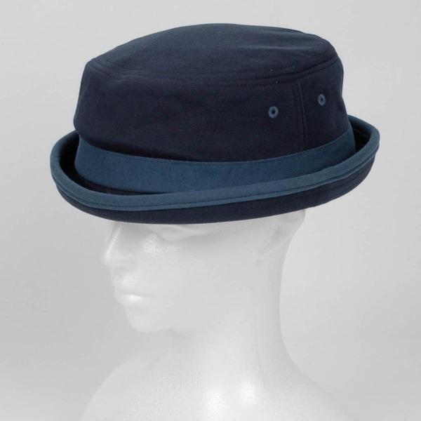 ポークパイハット メンズ レディース スウェット ブルー 青色 ハット帽子 男女兼用 帽子 58cm フリーサイズ|coconoco|07