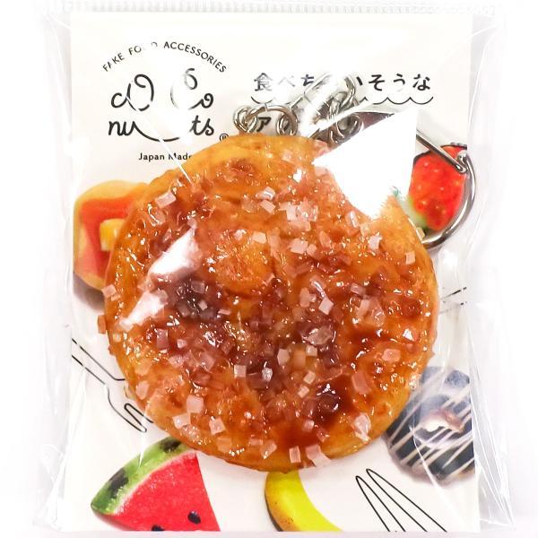 食品サンプル ザラメせんべい キーホルダー ストラップ ざらめ 煎餅 菓子 おやつ|coconuts-ac|12