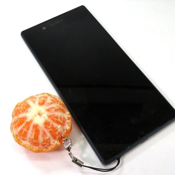 食べちゃいそうなまるごとみかん 食品サンプルキーホルダー、ストラップ|coconuts-ac|03