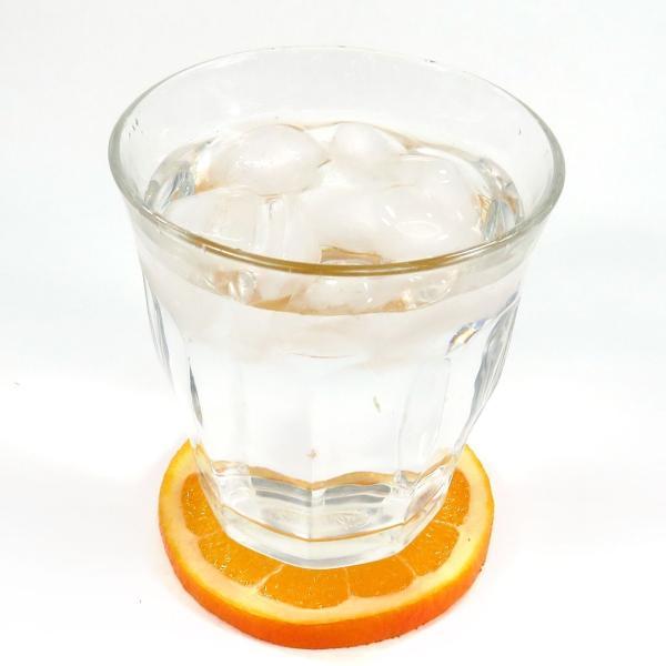 食べちゃいそうな食品サンプルフルーツコースターSサイズ オレンジ coconuts-ac 04
