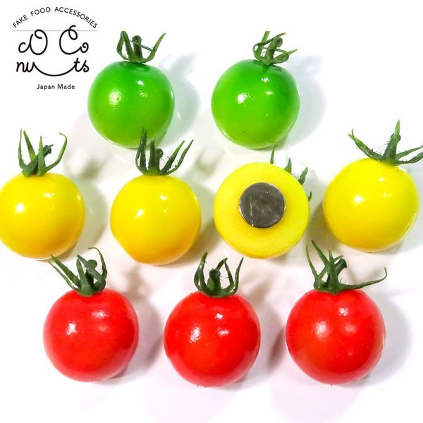 食べちゃいそうなミニトマト 食品サンプル マグネット coconuts-ac