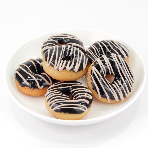食べちゃいそうなドーナツ 食品サンプル キーホルダー ストラップ チョコ イチゴ 抹茶 スイーツ おやつ|coconuts-ac|06