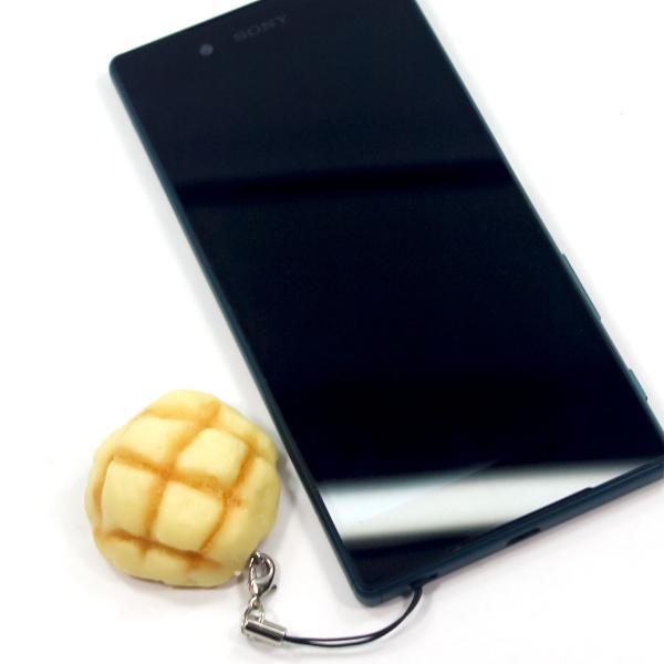 食べちゃいそうな メロンパン 食品サンプル キーホルダー ストラップ マグネット いずれか一つ|coconuts-ac|03