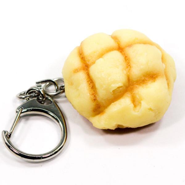 食べちゃいそうな メロンパン 食品サンプル キーホルダー ストラップ マグネット いずれか一つ|coconuts-ac|06