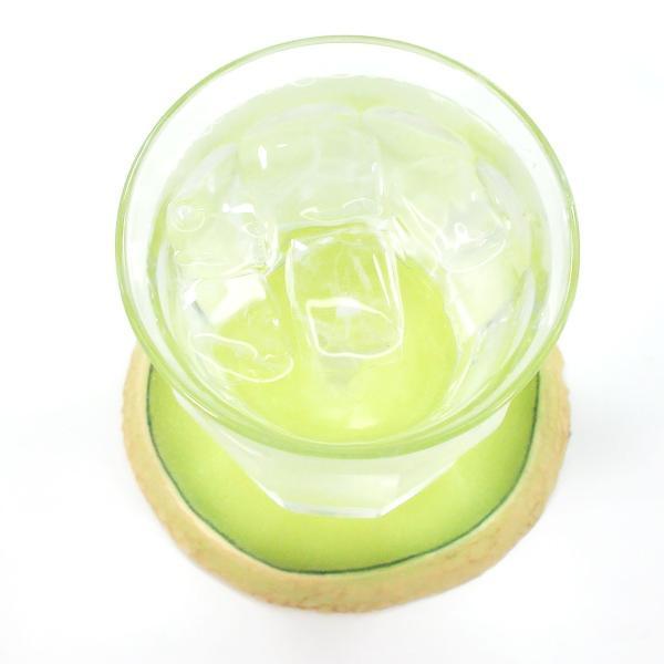 食べちゃいそうな食品サンプルコースター メロン coconuts-ac 04