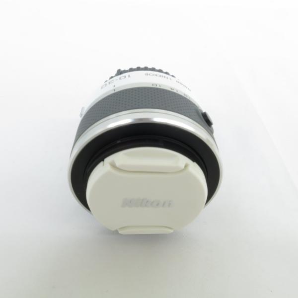 交換レンズ Nikon ニコン カメラレンズ 1NIKKOR VR 10-30mm 1:3.5-5.6 ホワイト #1409【C野々市店】