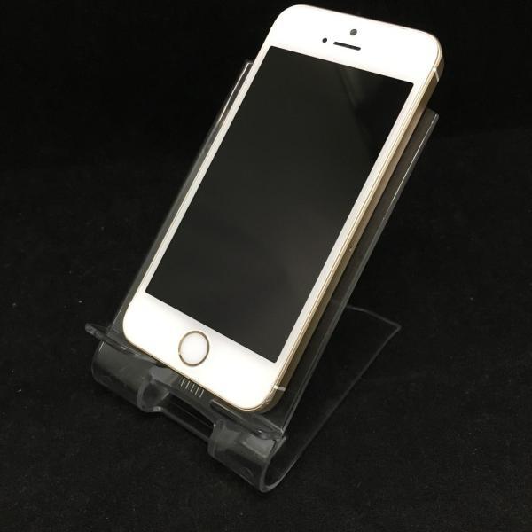 iPhone SE 128GB ゴールド (MP882J/A) auの画像
