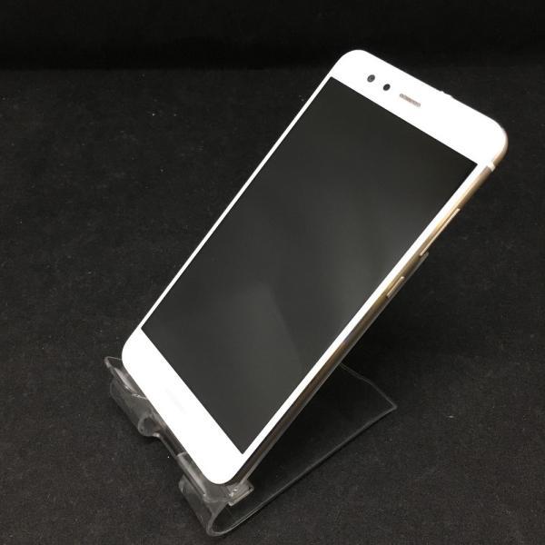 HUAWEI P10 lite 32GB パールホワイト UQモバイルの画像