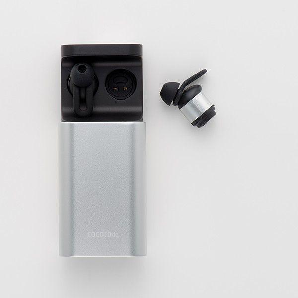 完全ワイヤレスイヤホン cocorode ココロデ  AAC対応 Bluetooth 4.2 片耳 マイク 内蔵 ハンズフリー通話 防滴 高音質 トゥルーワイヤレス イヤホン (Silver/銀)|cocorode|07