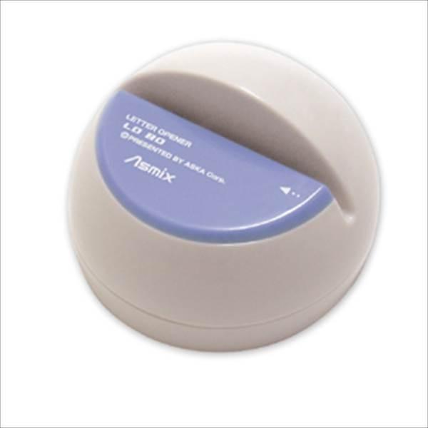 アスカ:電動レターオープナー ブルー LO80B 62129