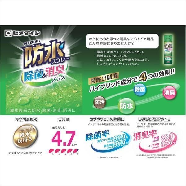 セメダイン:防水スプレー 除菌・消臭 HC-026