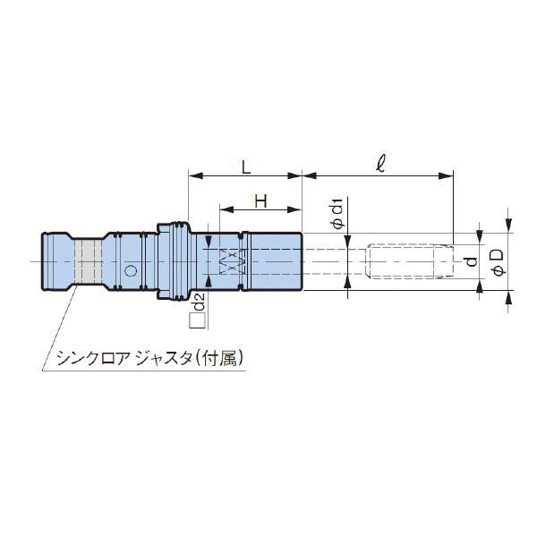 大昭和精機:タップホルダ MGT20-M14U9/16-35|cocoterrace|02