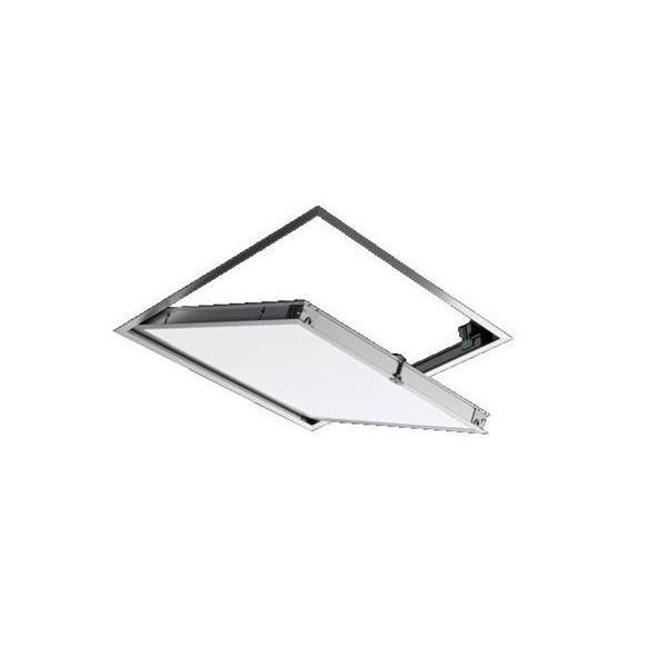 サヌキ:SPGアルミ製天井点検口シルバー支持金具仕様450角Gタイプ68145(G)