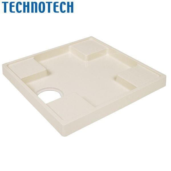 (代引不可)テクノテック:かさ上げ防水パン スタンダード防水パン アイボリーホワイト 中央穴 TS-640-CW1 施工 設置