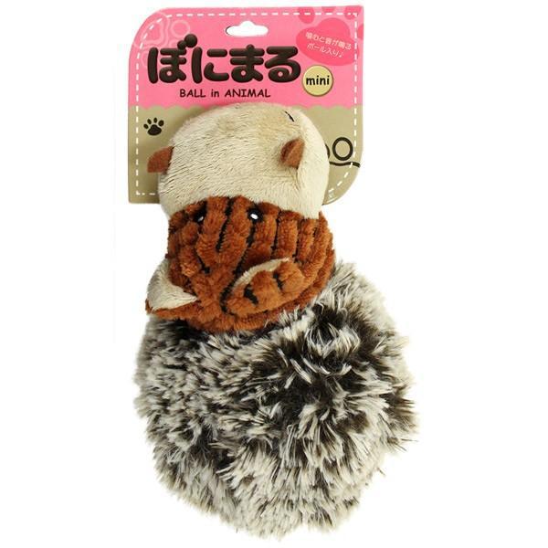 スーパーキャット:ぼにまるミニ カバ BN-07 犬 おもちゃ 玩具 ぬいぐるみ 笛 音 マスコット